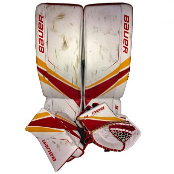 Red and Sport Gold PadSkinz